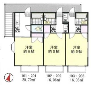 横須賀市 14.42% 2路線2駅利用可のサムネイル