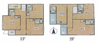 板橋区 13% 満室中 家具家電付のサムネイル