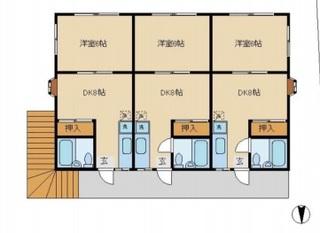 所沢市 13.12% 1DK(約32㎡)×6戸のサムネイル