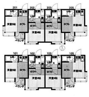 狛江市 8.52% 全室ロフト付きのサムネイル