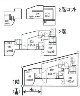 新宿区 7.01% H19築満室のサムネイル